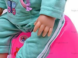 Функциональный игрушечный пупс Baby Doll, 058-A, цена