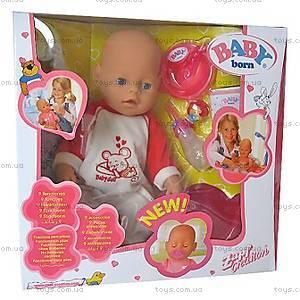 Функциональный пупс Baby Doll, 8001-6