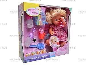 Функциональный пупс с аксессуарами, 33002-10A, игрушки