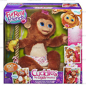 Интерактивная «Смешливая обезьянка» Фур Риал, A1650