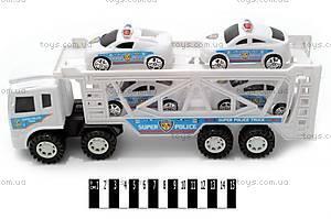 Игрушечный трейлер-автовоз, 6601A