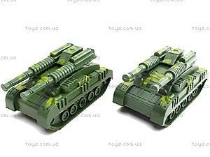 Детский инерционный трейлер с военной техникой, 781-20, купить