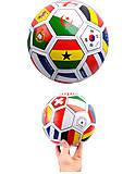 Футбольный мяч «Флаги стран», BT-FB-0014, toys