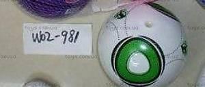 Футбольный мяч «Зеленый», W02-981