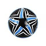 """Футбольный мяч """"Звезда"""", чёрно-синий, F22060, фото"""