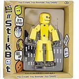 Фигурка для анимационного творчества STIKBOT S2 желтый, TST616IIY, купить игрушку