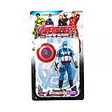 Фигурка для детей «Мстители» Капитан Америка, 6688-88, фото