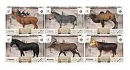 """Фигурка """"Крупные животные"""" в ассортименте, Q9899-390, купить"""