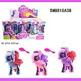 Фигурка Пони с аксессуарами, 3 цвета, SM8815A38, фото