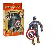 Фигурка супергероя «Капитан Америка», 0823A-3