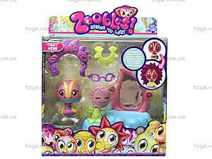 Фигурка Zoobles Tibet с аксессуарами, 13218-20046327(M02)-ZB, купить