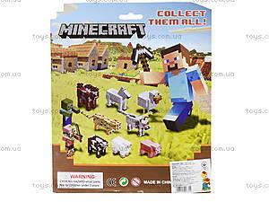 Фигурки героев Minecraft, 2 штуки, 14139, фото
