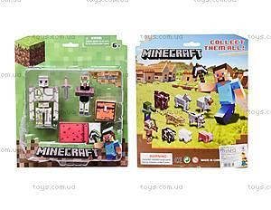 Фигурки героев Minecraft, 2 штуки, 14139