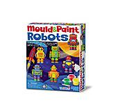 Фигурки из гипса «Роботы», 00-04653, фото