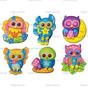 Фигурки из гипса «Светящиеся совы», 00-04654, купить