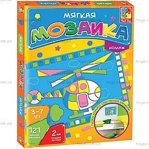 Фигурная мозаика-коллаж, VT2301-05..08, toys