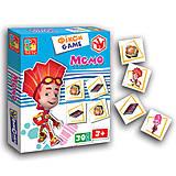 Фикси - игра «Мемо», VT2107-06, отзывы