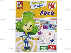 Фикси-игры «Лото», VT2107-03, фото
