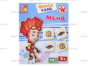 Фикси-игры «Мемо», VT2107-02, купить