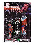 Фингерборд «Человек-паук» 3 штуки, 904