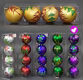 Фиолетовые шары на Ёлку, C22477, toys.com.ua