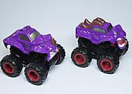 Фиолетовый джип Monster Wheels, KLX500-236