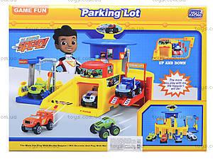 Игрушечный гараж для машинок Blaze, 828-61-62-63, купить