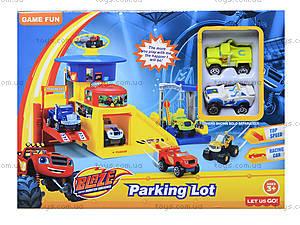 Игрушечный гараж для машинок Blaze, 828-61-62-63, отзывы