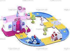 Игрушечный гараж для машинок «Робокар Поли», XZ-193, фото