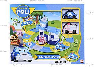 Игрушечный гараж «Робокар Поли», XZ-192, игрушки