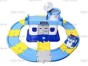 Игрушечный гараж «Робокар Поли», XZ-192, toys.com.ua