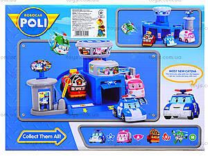 Игровой гараж для машинок «Робокар Поли», XZ-301, цена