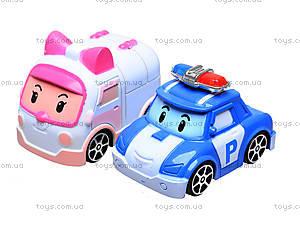 Игровой гараж для машинок «Робокар Поли», XZ-301, игрушки
