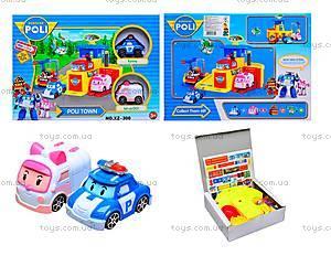 Детский гараж для машин «Робокар Поли», XZ-300