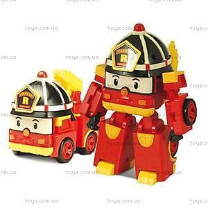 Гараж для машинок «Робокар Поли», красный, XZ-152, купить