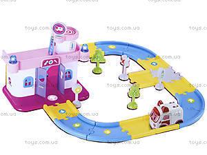 Гараж для машинок «Робокар Поли», розовый, XZ-151, игрушки
