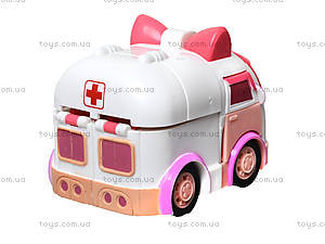 Гараж для машинок «Робокар Поли», розовый, XZ-151, детские игрушки