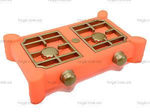 Газовая плита и набор посуды «Юника», , игрушки