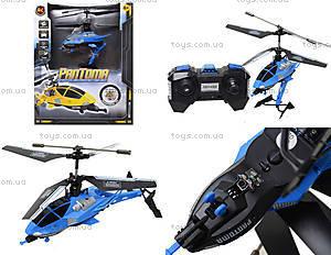 Радиоуправляемый вертолет Pantoma, синий, D-01-B