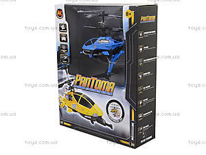 Радиоуправляемый вертолет Pantoma, синий, D-01-B, игрушки