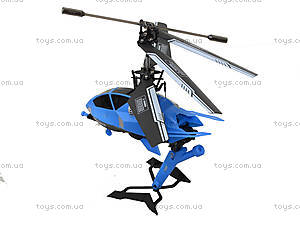 Радиоуправляемый вертолет Pantoma, синий, D-01-B, детские игрушки