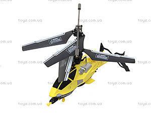 Детский вертолет на радиоуправлении, желтый, D-01-Y, игрушки