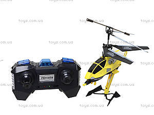 Детский вертолет на радиоуправлении, желтый, D-01-Y, toys.com.ua