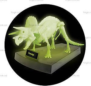 Набор Geoworld «Ночь Юрского периода. Скелет Трицератопса», CL140K, фото