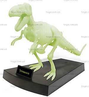 Набор Geoworld «Ночь Юрского периода. Скелет Ти-Рекса», CL141K, фото
