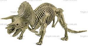 Игровой набор юного палеонтолога «Трицератопс и Мамонт», CL167K, отзывы