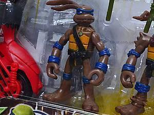 Герои «Черепашки-ниндзя» с мотоциклом, 2321, цена