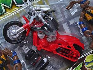 Герои «Черепашки-ниндзя» с мотоциклом, 2321, магазин игрушек