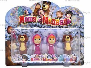 Герои «Маша и Медведь», 4 фигурки, R182A-4