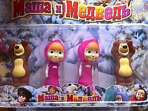 Герои «Маша и Медведь», 4 фигурки, R182A-4, цена